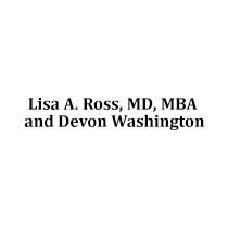 Lisa A. Ross, MD, MBA and Devon Washington