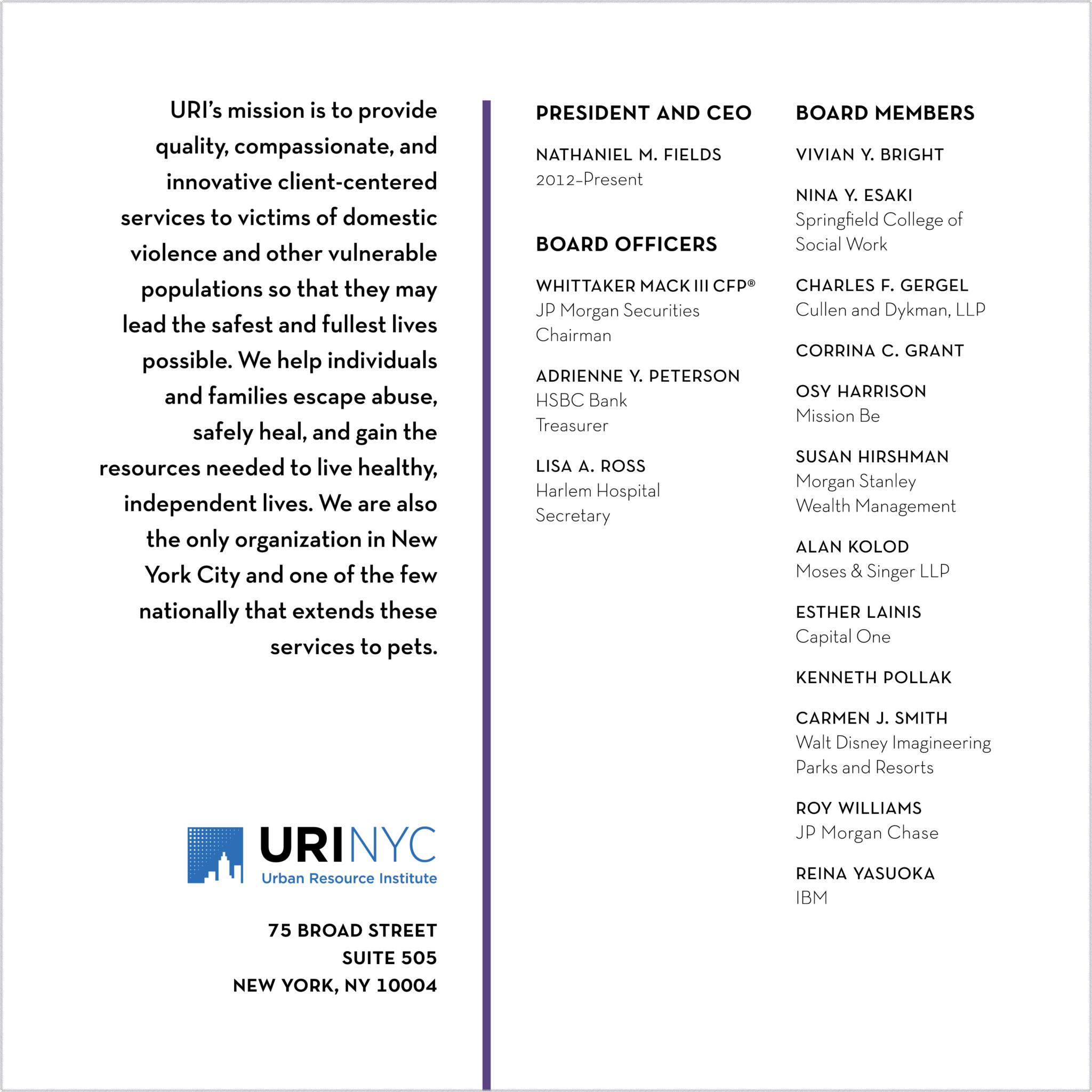 List of board members