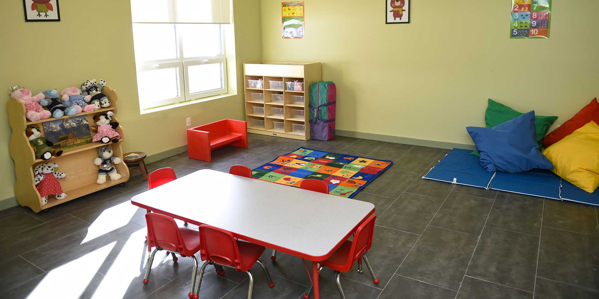 Kid's Play Room at One of PALS Domestic Violence Shelters